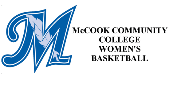 McCook Community College Logo on the left with the words McCook community college basketball womens on the right