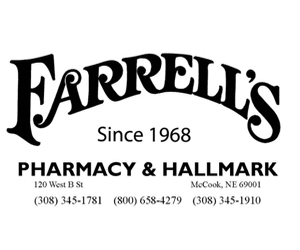 Farrells Pharmacy advertisement